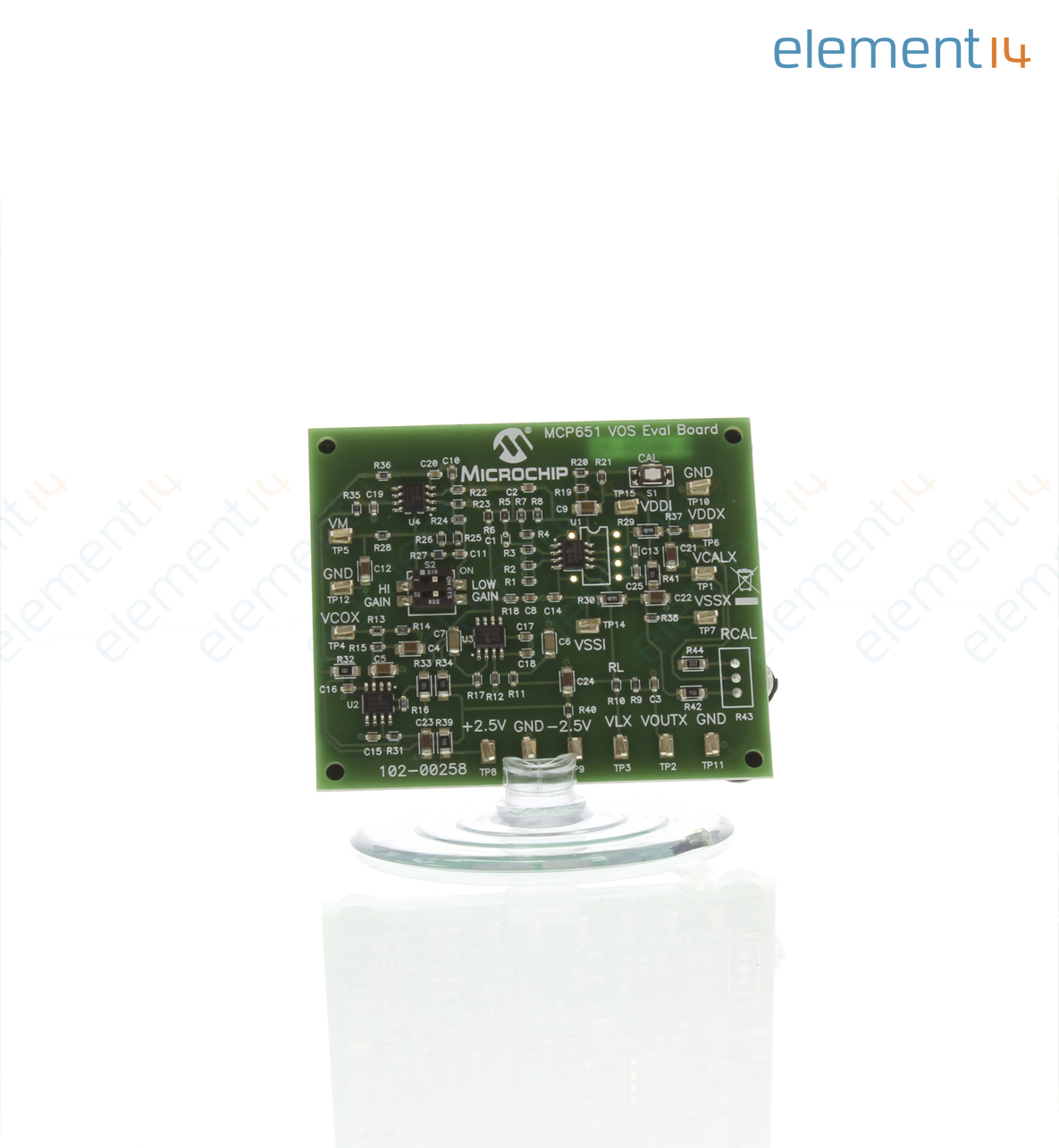 Mcp651ev Vos Microchip Evaluation Board Mcp651 Input Offset 3m Small Outline Integrated Circuit Test Clips Sotc8 Richmedia 9400b En
