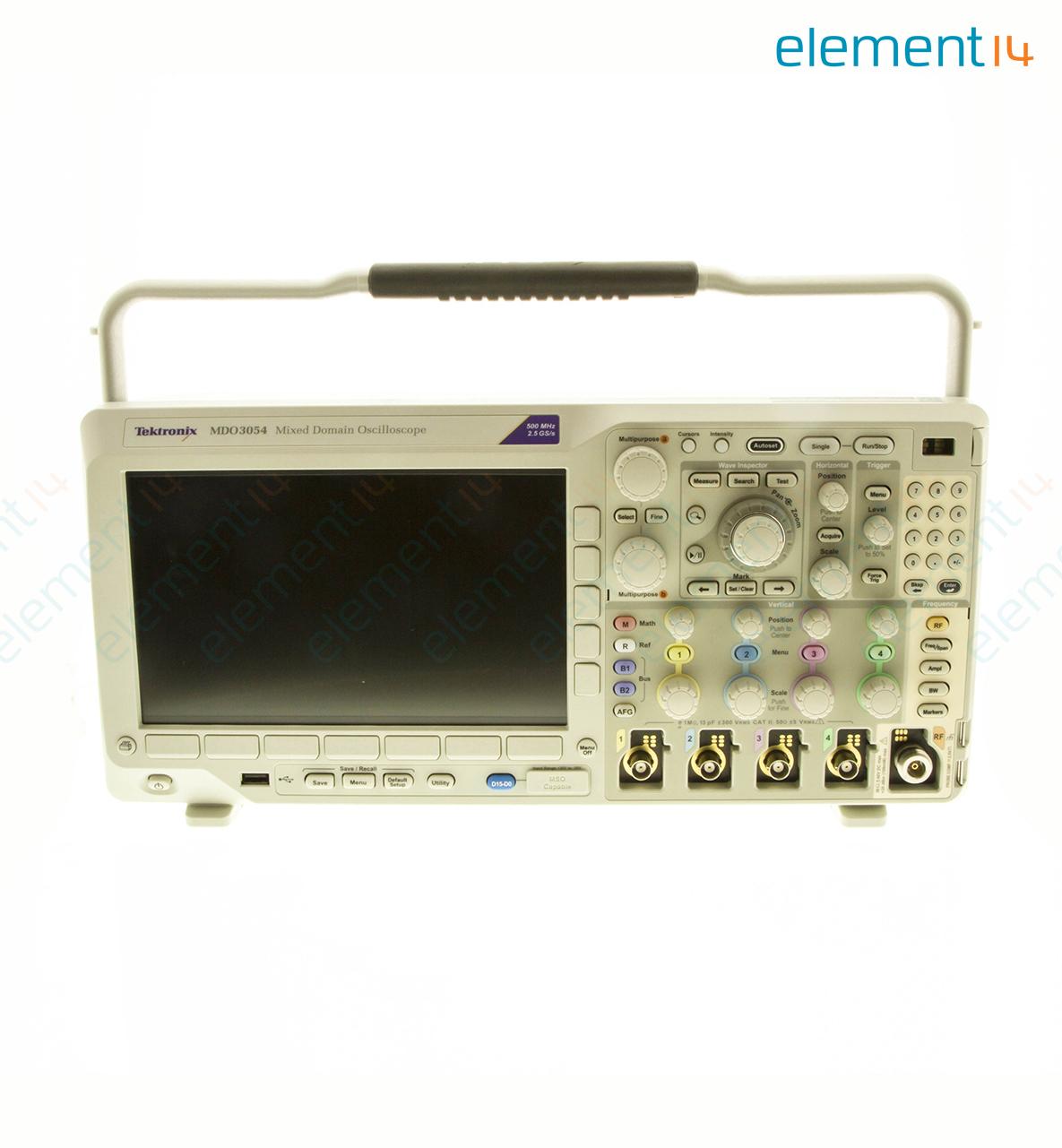Mdo3054 Tektronix Oscilloscope Mdo3000 Series 4 Channel 0 500mhz Pic16f876 Rf Power Meter Richmedia 352kb En