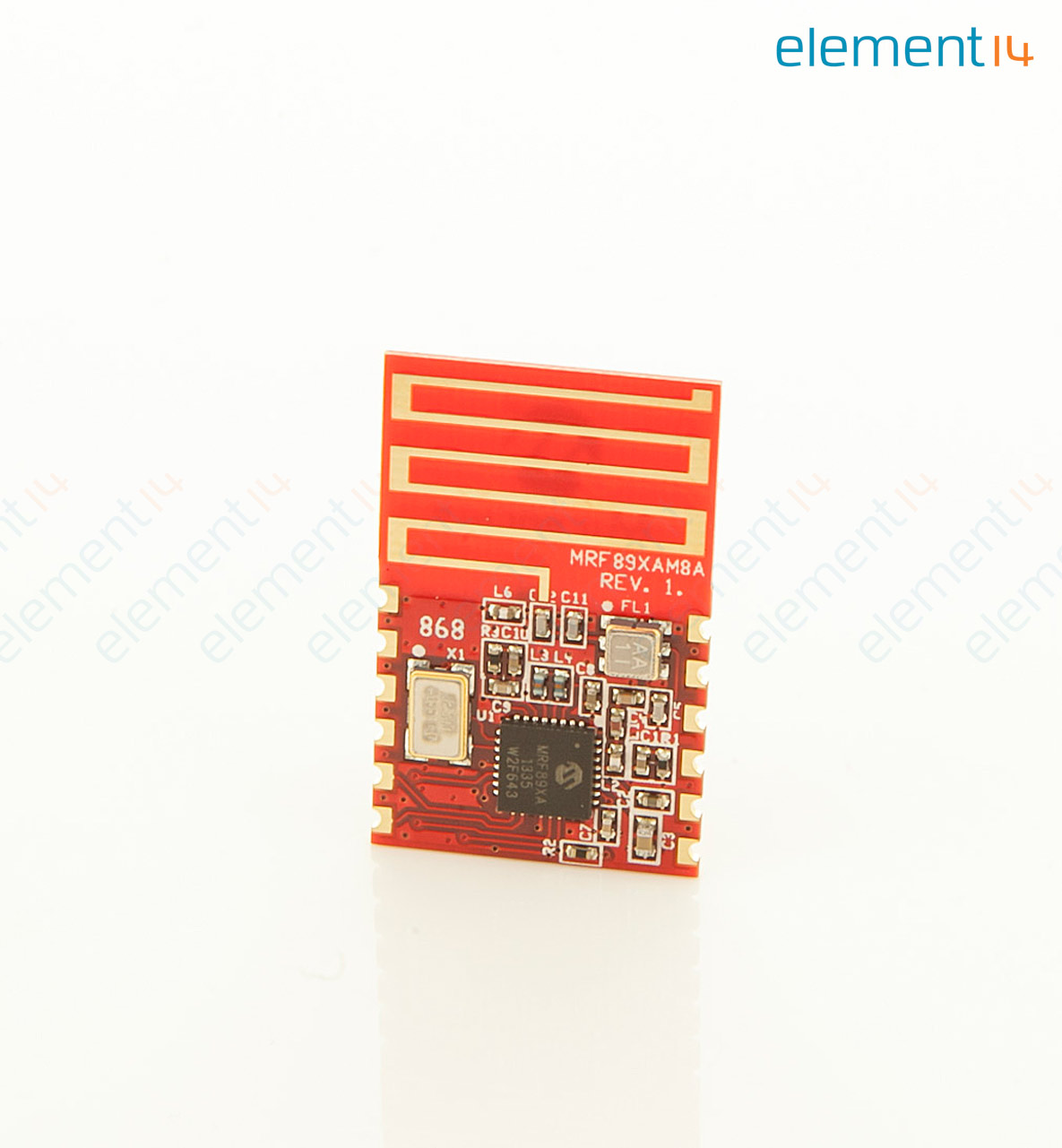 Mrf89xam8a I Rm Microchip Transceiver Module Surface Mount Ultra Lowcost Shipment Shock Sensor Using A 6pin Sot23 Microcontroller Low Power 868 Mhz