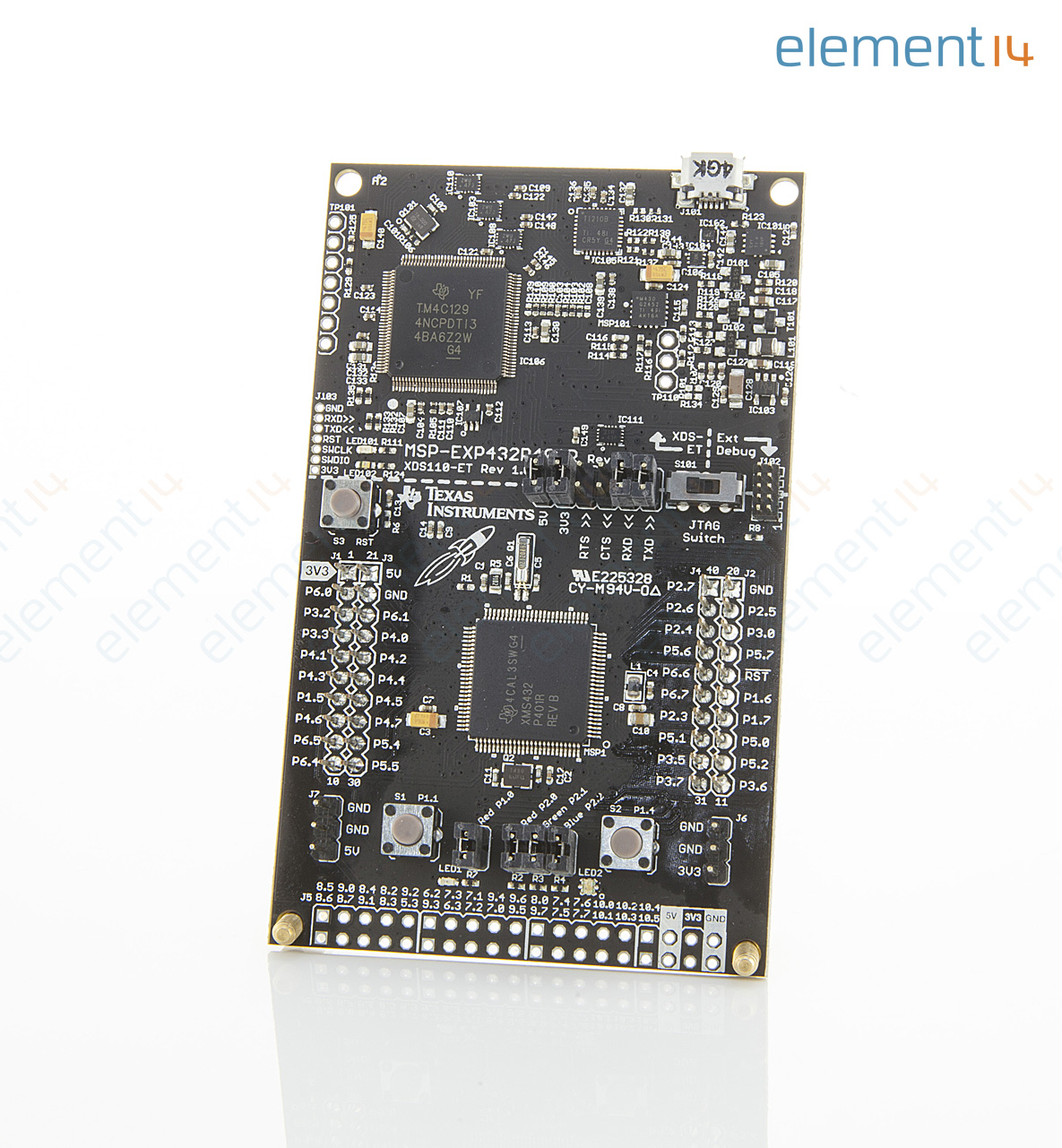 Development Board, MSP432 Performance Launchpad, 48MHz, 40pin BoosterPack  Connector