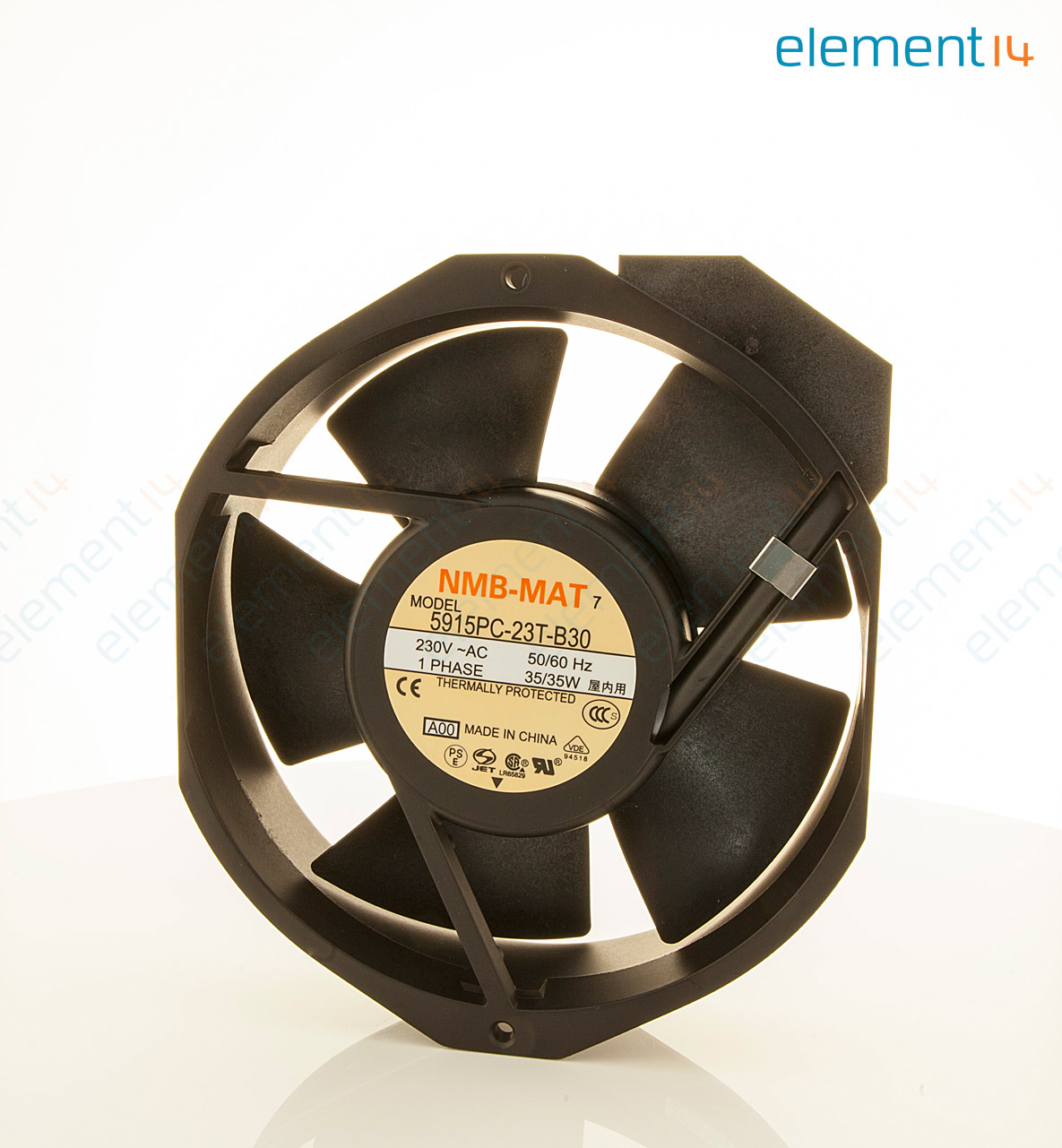 5915pc 23t B30 A00 Nmb Technologies Axial Fan Series 230 V Wiring Ac Fans In Add To Compare