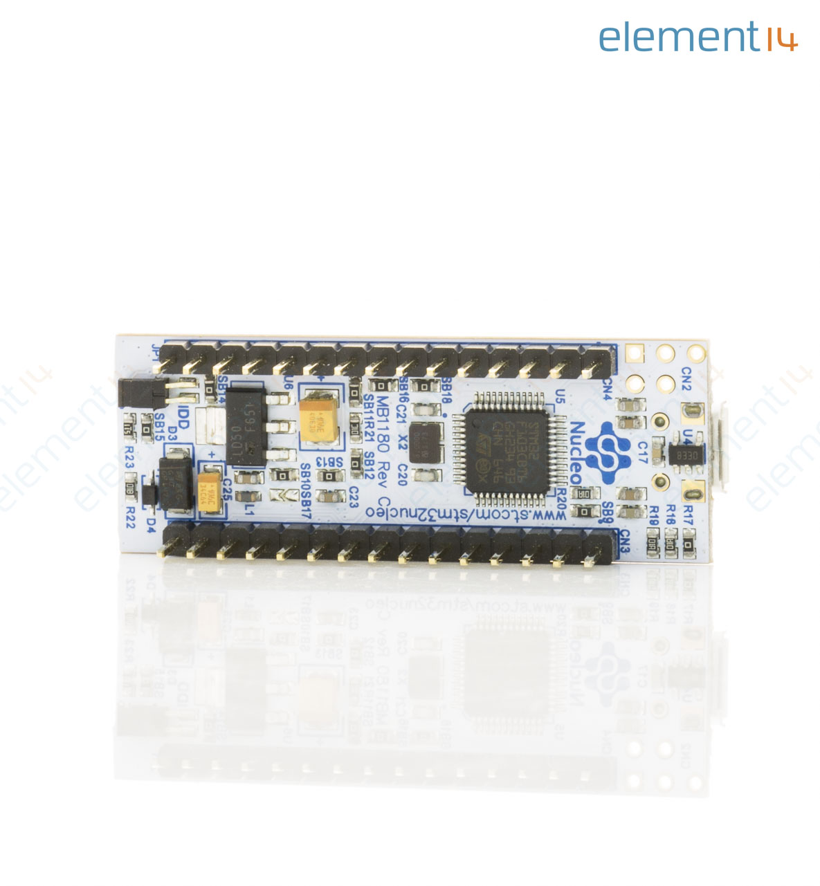 Development Board, Nucleo-32 MCU, ST-LINK/V2-1 Debugger/Programmer, Nano  Extension