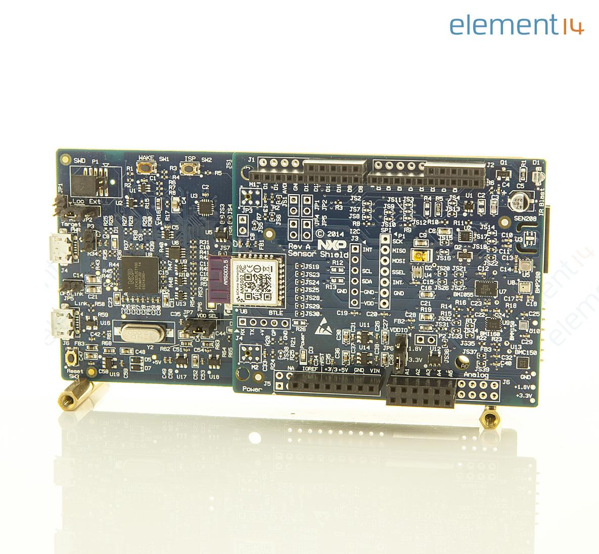 Om13078 Nxp Evaluation Module Sensing Inertial Digital Compass Circuit Richmedia 391kb En