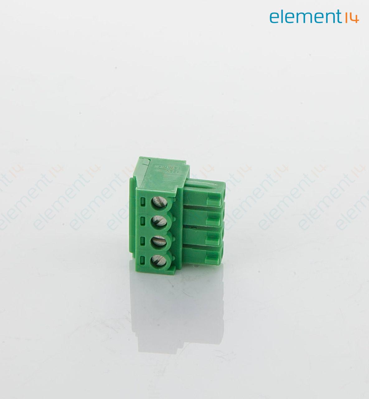 1803594 PHOENIX CONTACT, Steckbare Reihenklemme, 3.81 mm, 4 -polig