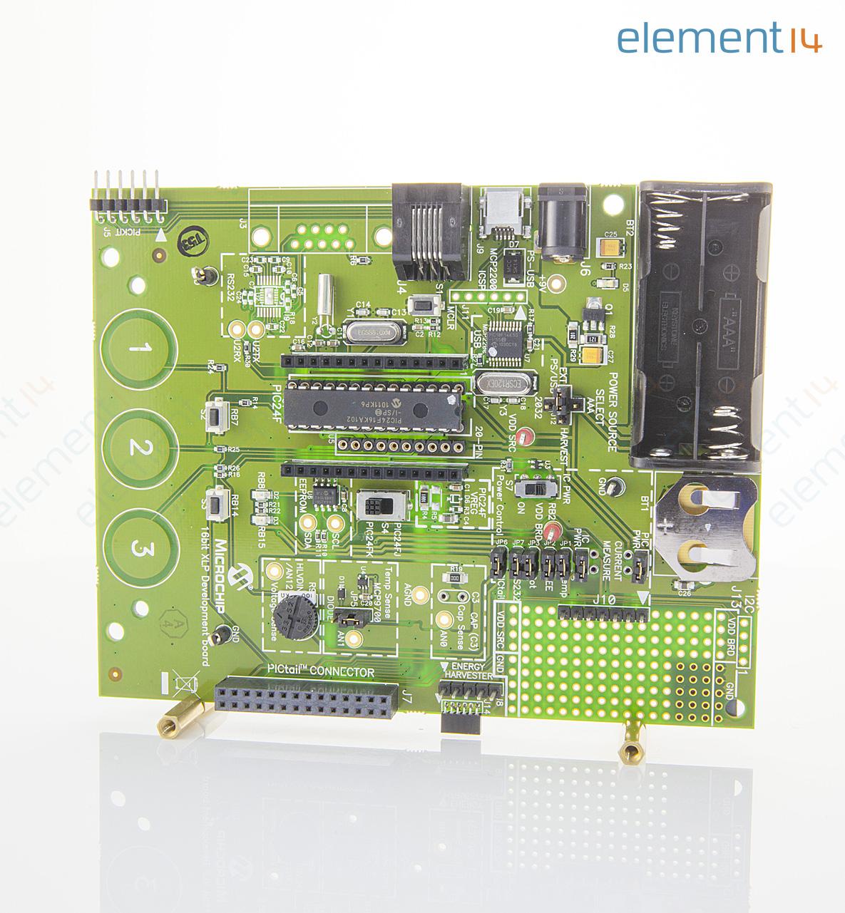Dm240311 Microchip Development Board Pic24f16ka102 Xlp Realtime Clock Calendar Ic Electronics And Electrical Engineering Richmedia 351kb En