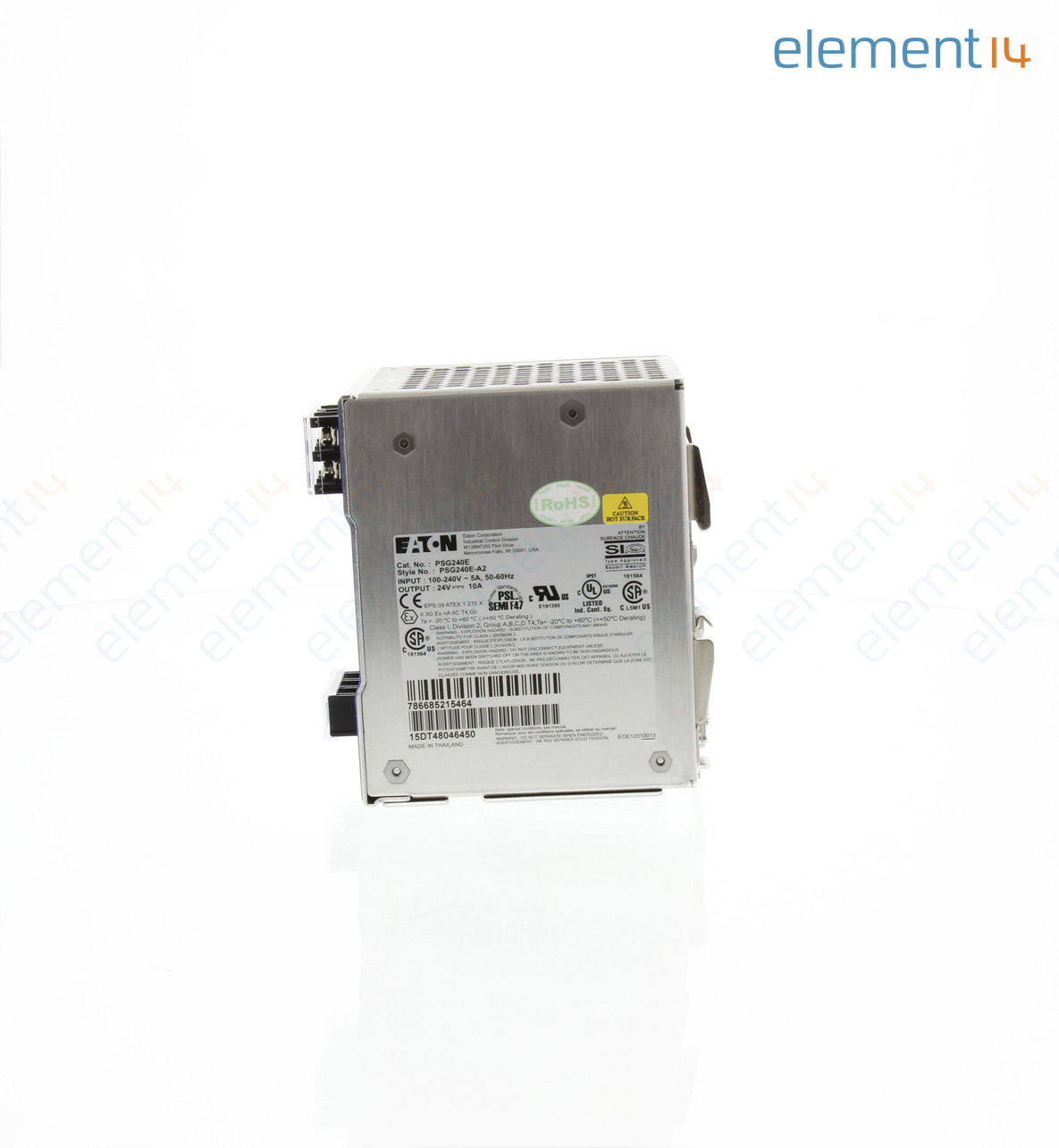 Psg240e Eaton Ac Dc Din Rail Power Supply Psu Ite Medical Filter Units Out Terminals With A Heavy Load The Add To Compare