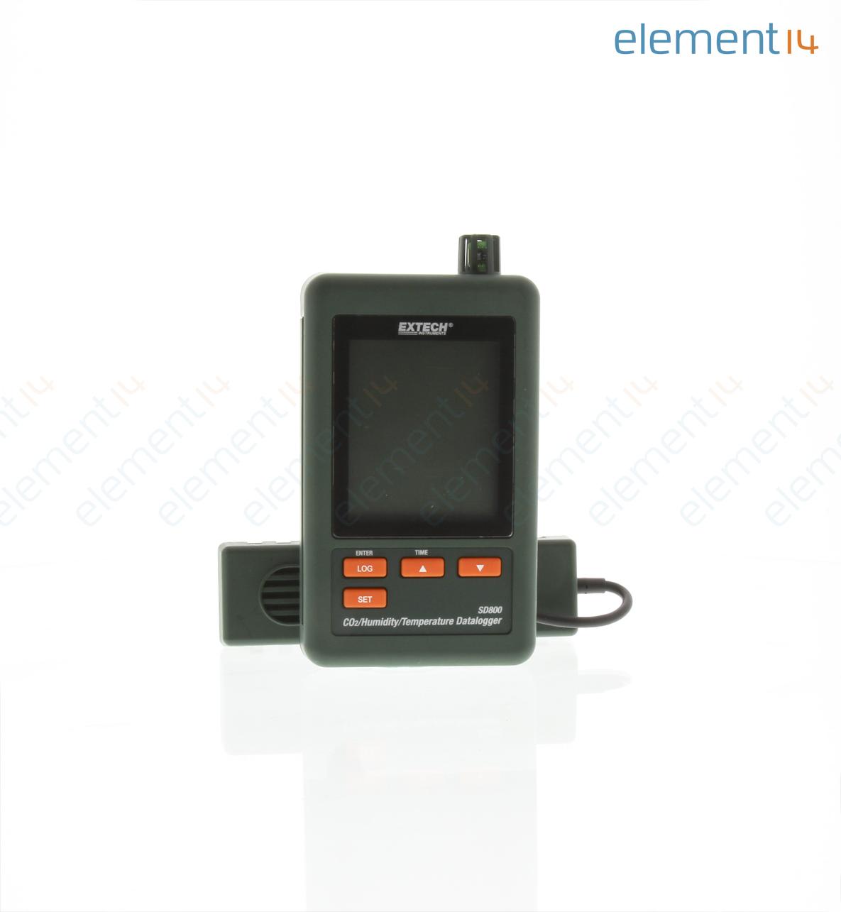 Sd800 extech instruments medidor de humedad 10 a 90 - Humedad relativa espana ...