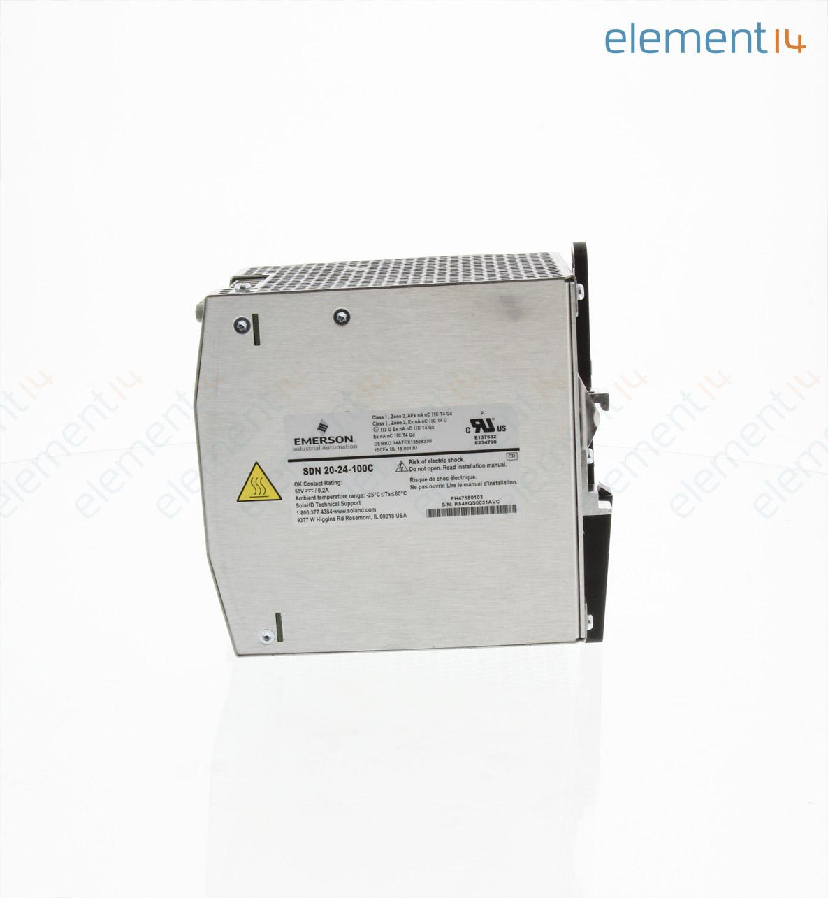 AC/DC DIN Rail Power Supply (PSU), ITE, 1 Output, 480 W, 24 VDC, 20 A