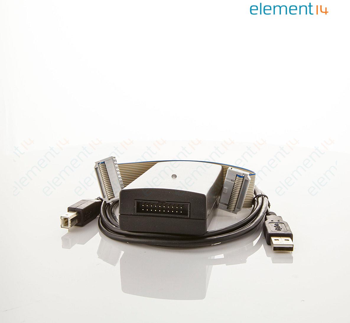 USB JTAG Emulator, Supports ARM, Cortex-M, Cortex-A, RX000 Series &  Cortex-R4 MCUs, USB Interface