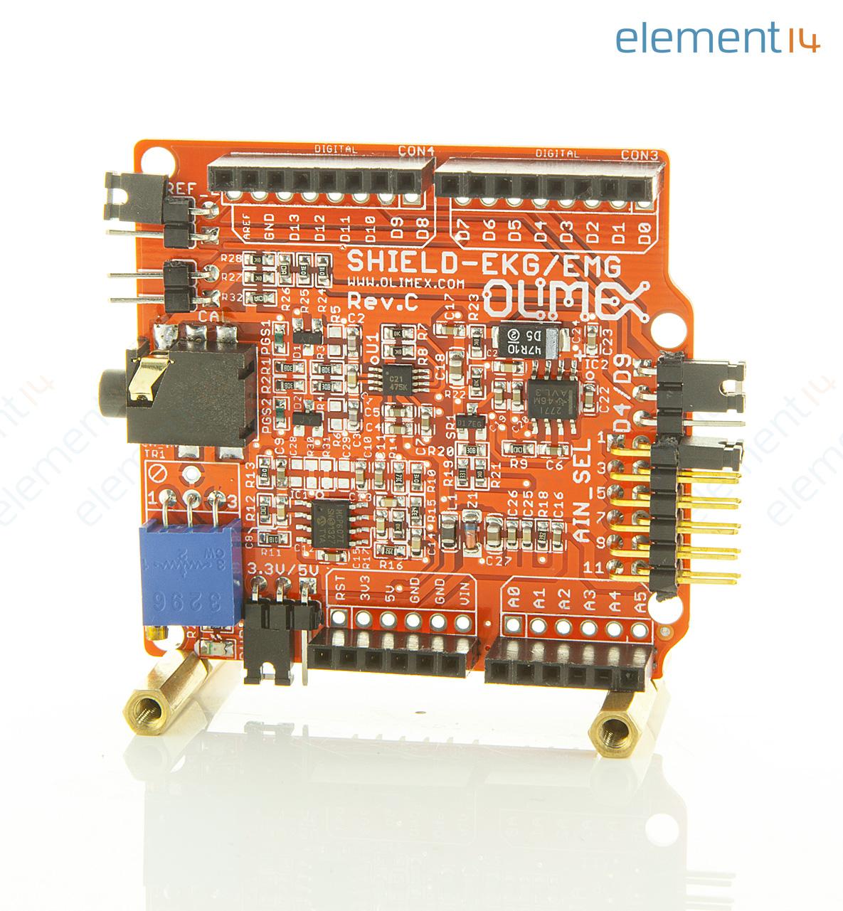 Ecg Amplifier Electrocar Diogram
