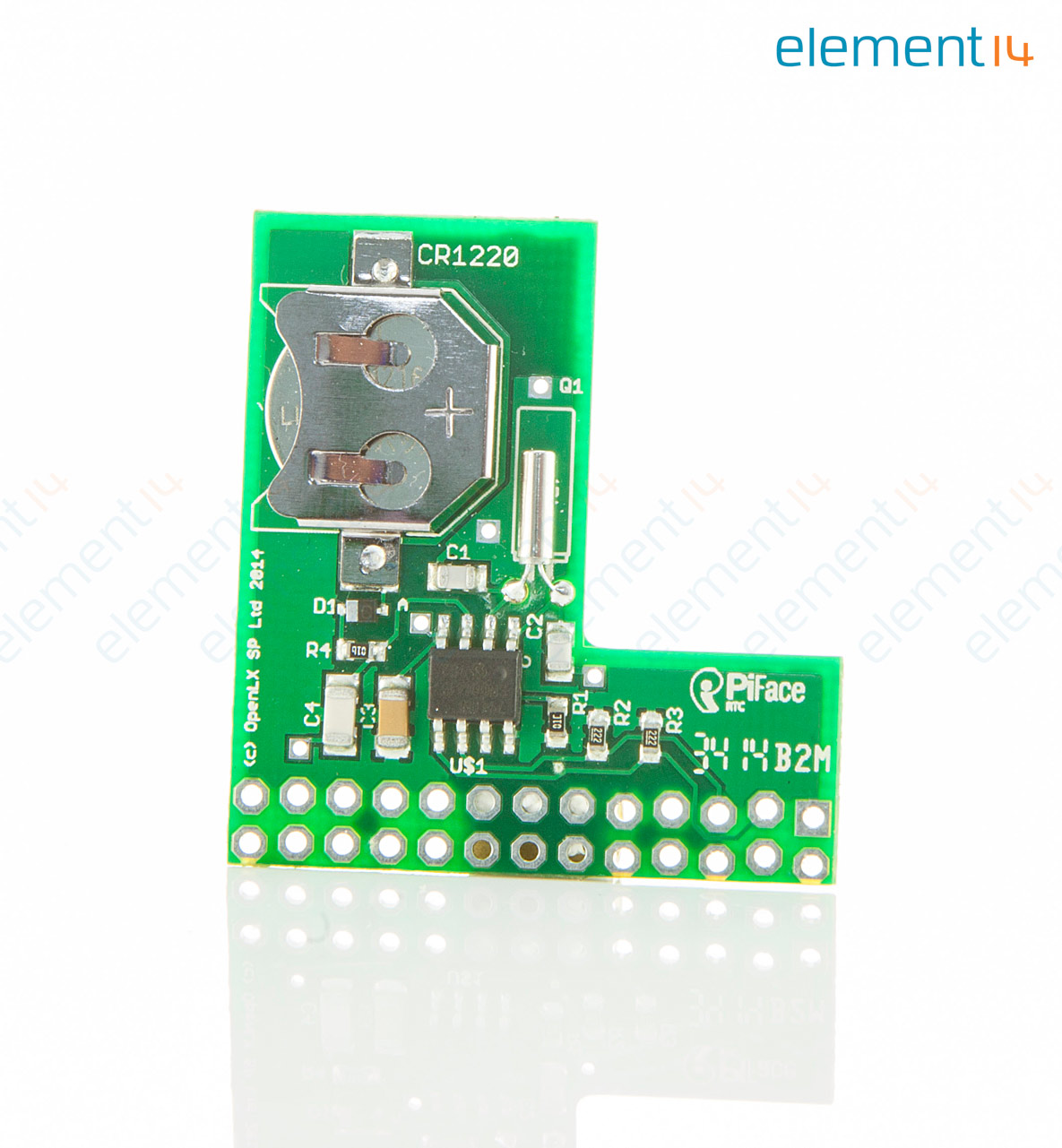 Daughter Board, Real Time Clock Expansion Board, For Raspberry Pi, Plug &  Play Integration