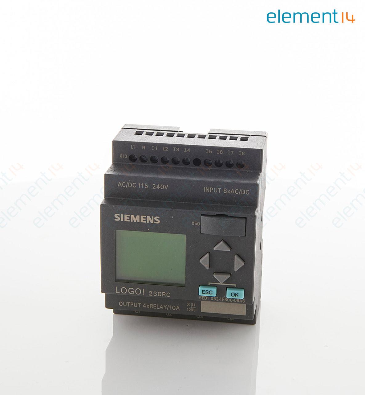 6ed1 052 1fb00 0ba6 siemens plc logo series modular