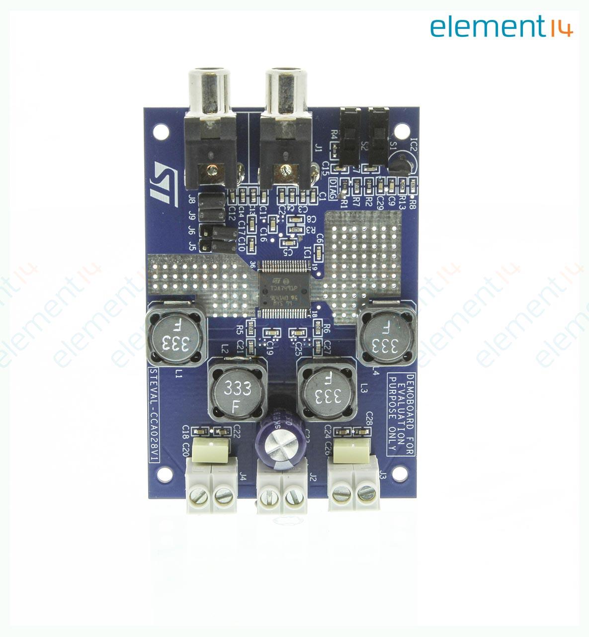 Steval Cca028v1 Stmicroelectronics Evaluation Board Audio Power Buy Amplifier Circuit Boardaudio Class D Tda7491p