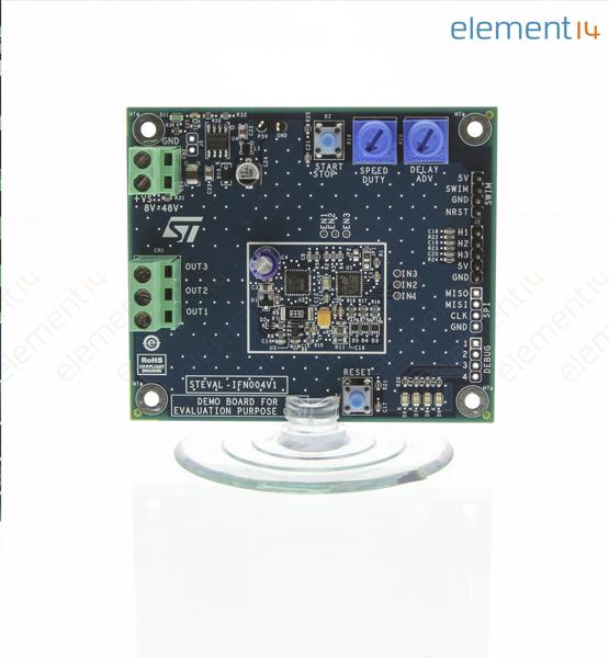 STEVAL-IFN004V1 STMICROELECTRONICS, Demoboard, bürstenlose DC ...