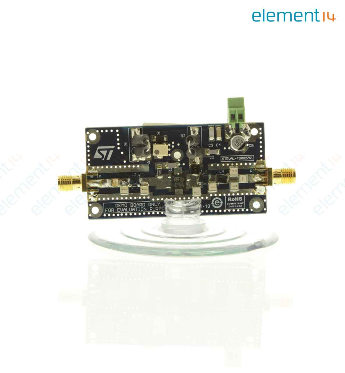 Steval Tdr027v1 Stmicroelectronics Demonstration Board Rfid Electronics Learning Circuits Webonly Products Technology Add To Compare