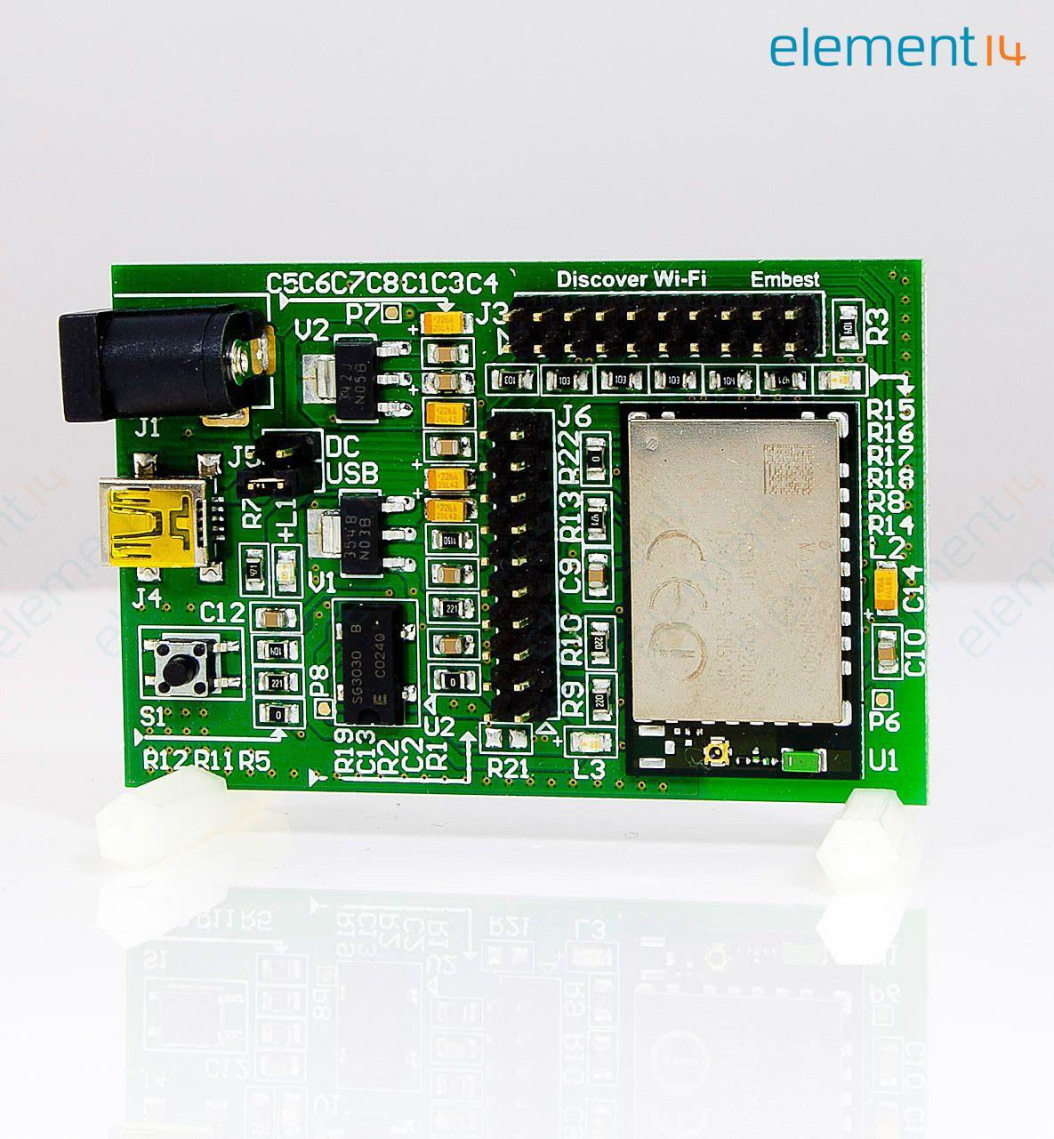 Stm32f4dis Wifi Stmicroelectronics Add On Board Stm32f4 Circuit Richmedia 372kb En