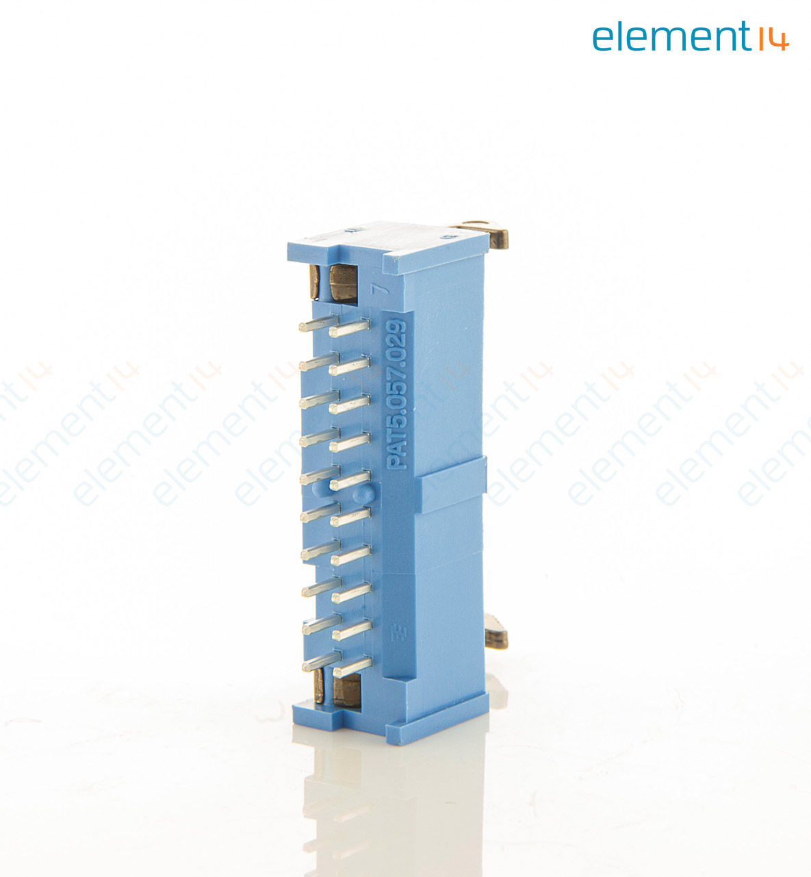 2-1761606-7 - AMP - TE CONNECTIVITY - Wire-To-Board Connector, 2.54 ...