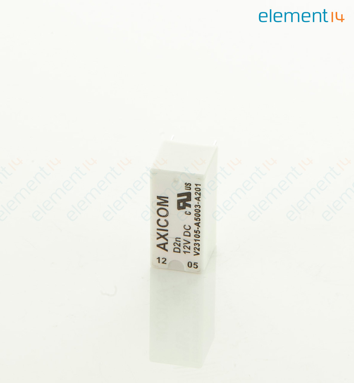V23105a5003a201 Axicom Te Connectivity Signal Relay 12 Vdc Dpdt Function Add To Compare