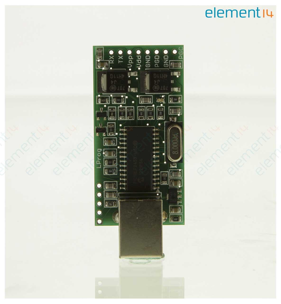 Temlp001 Microchip Lprog Programmer Usb Powered Light Weight Usbpowered Pic Circuit Schematic