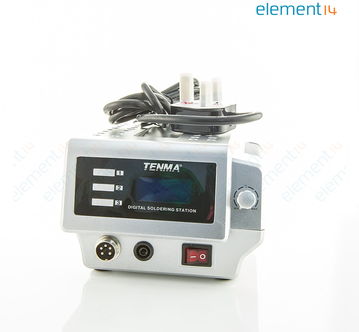 AT60D-UK TENMA, 220V, 60W UK Plug Type Digital Soldering Station