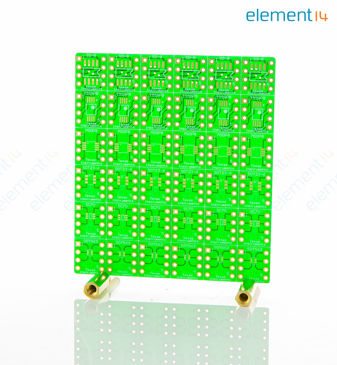 Dip Adapter Evm Texas Instruments Evaluation Module 3m Small Outline Integrated Circuit Test Clips Sotc8 Soic 8 Tssop Msop Sot23 6 Sc70 Sot563 Drl Packages