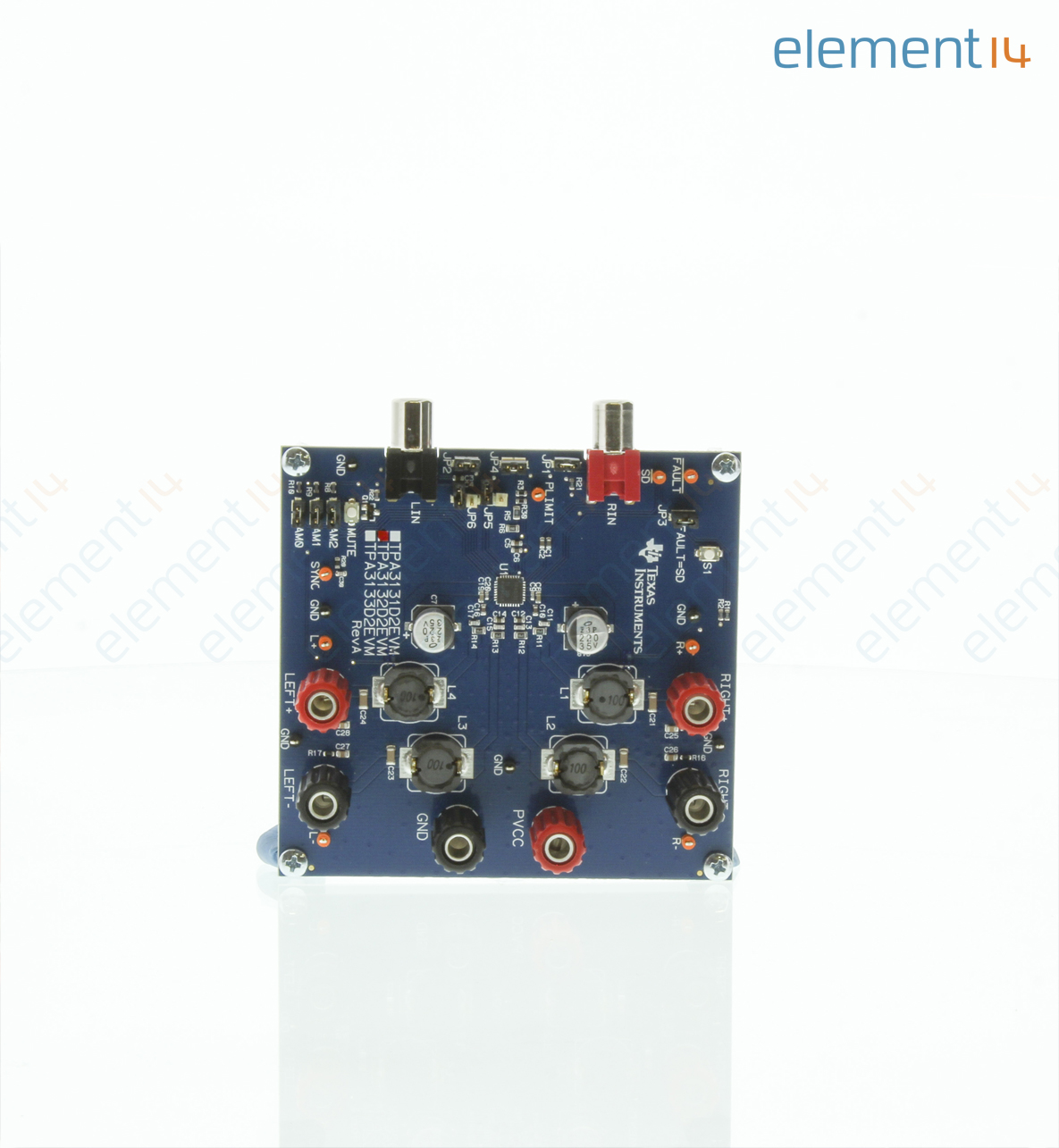 Tpa3131d2evm Texas Instruments Evaluation Board Audio Amplifier Buy Circuit Boardaudio Tpa3131d2 360 Add To Compare