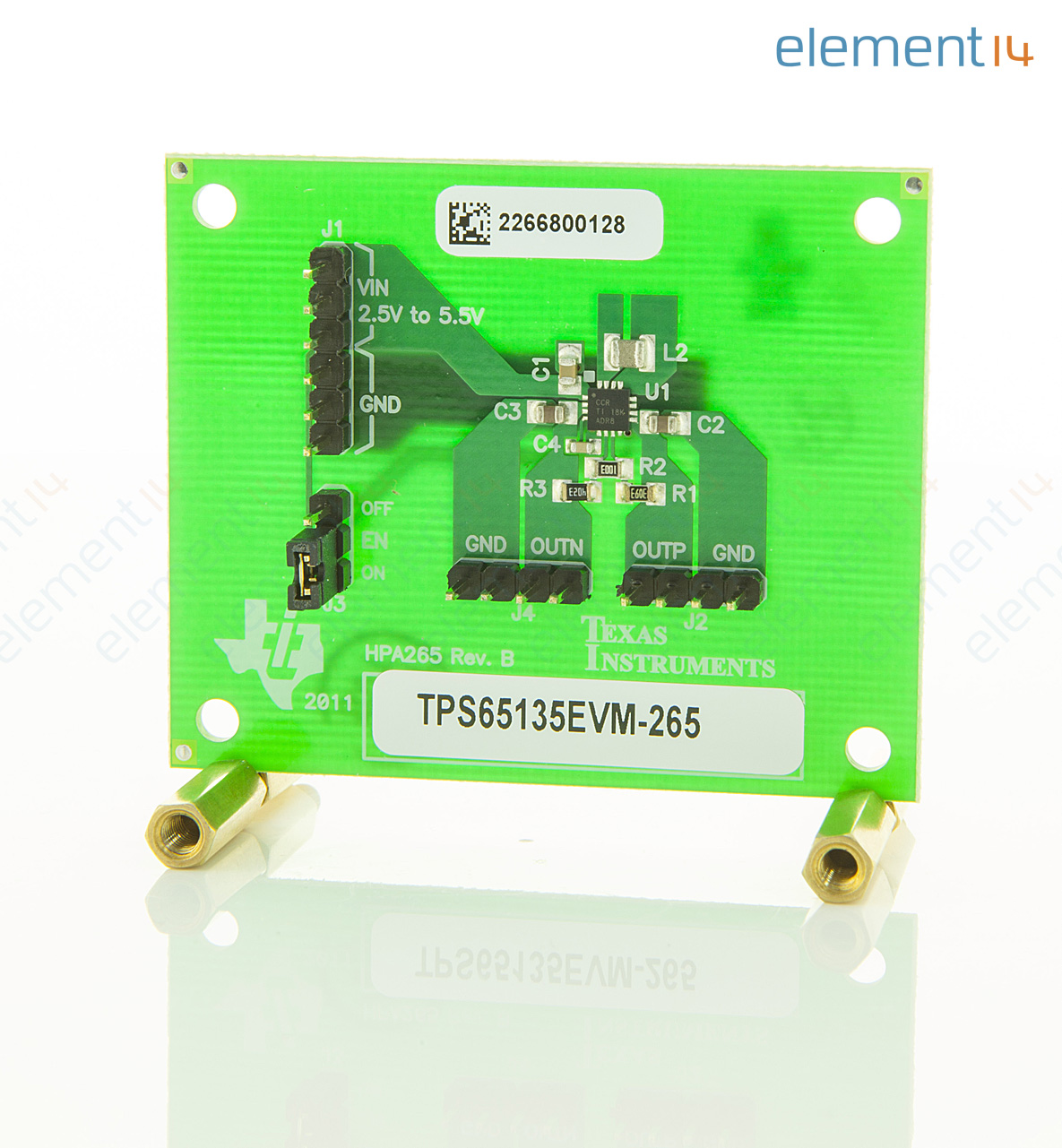 Tps65135evm 265 Texas Instruments Evaluation Board For Dc Lm337lz Voltage Regulator Integrated Circuit To92 Add To Compare