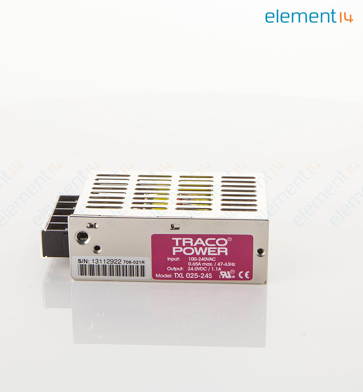 Txl 025 24s Tracopower Ac Dc Enclosed Power Supply Psu Ite 1 24v 65a Single Output Add To Compare
