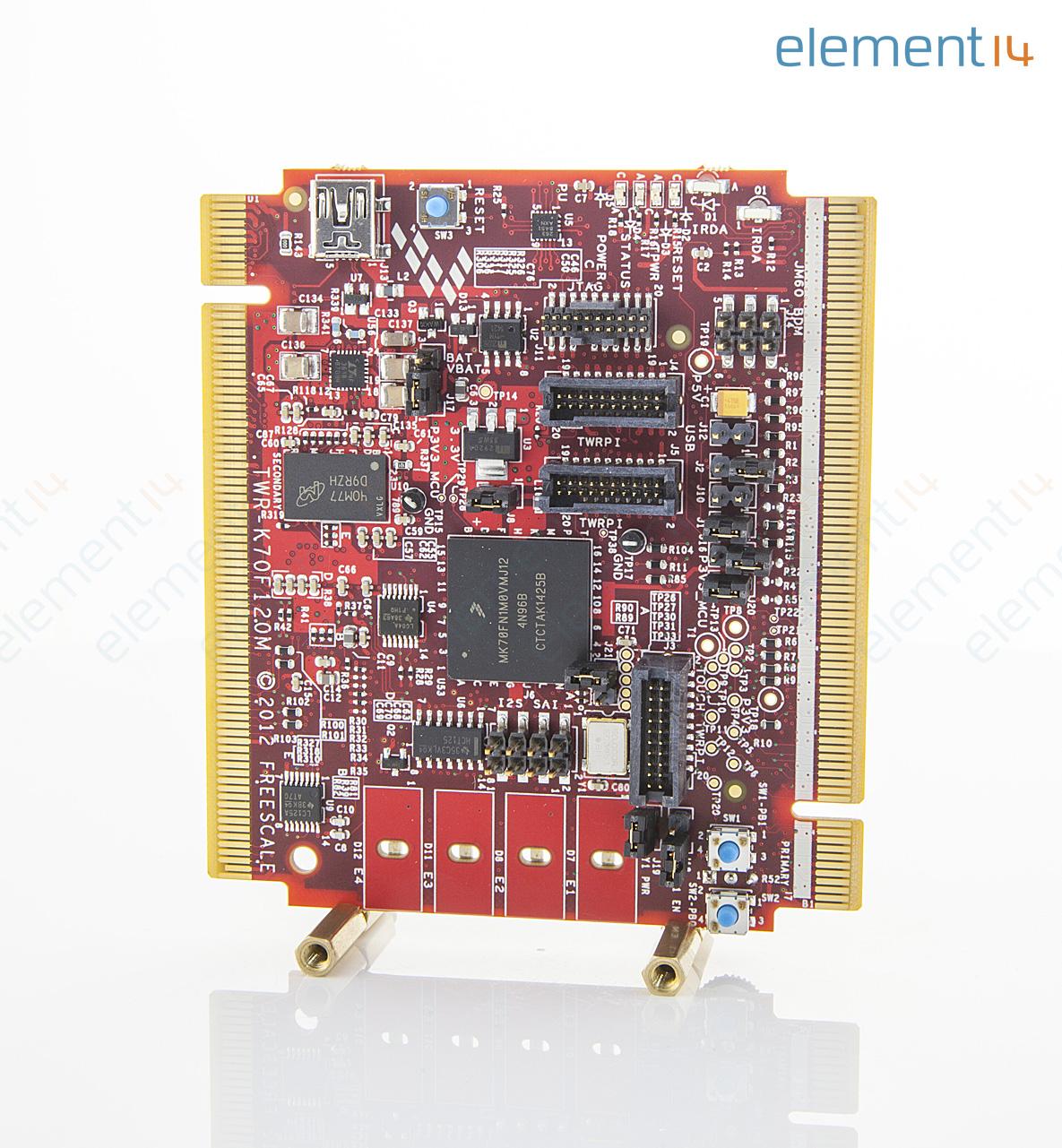 Twr K70f120m Nxp Development Kit Kinetis K61 And K70 Family Arm Low Cost Microcontrollers Dev Richmedia 30202kb En