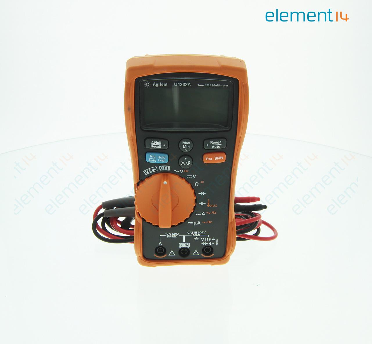 U1232a Keysight Technologies Handheld Digital Multimeter U1230 Warn Mx 6000 Wiring Diagram Video