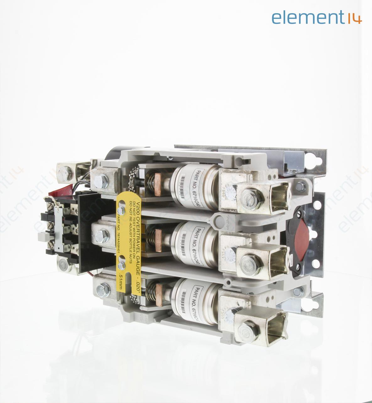 V200m5cjc eaton cutler hammer motor starter 3 phase 75hp for 3 phase motor starter