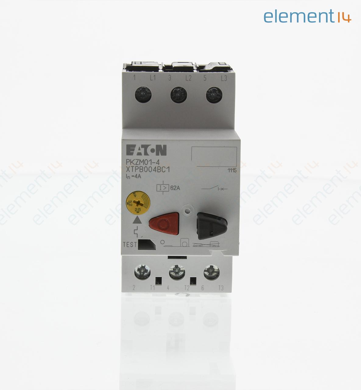 XTPB004BC1 - EATON CUTLER HAMMER - Motor Starter, XT Series, IEC